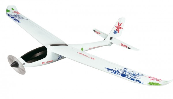 Amewi 3D Climber Segelflugzeug mit Gyro, 5-Kanal, RTF 24057