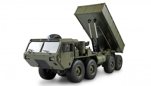 Amewi U.S. Militär Truck 8x8 Kipper 1:12 military grün 22437