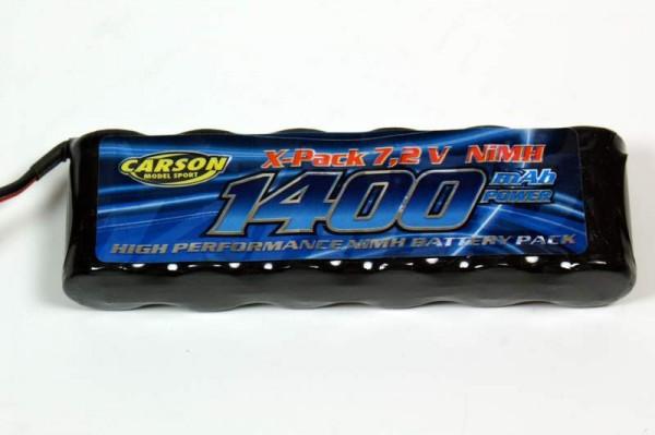 Akku Pack Carson 7,2V 1400mAh NiMH TamTechGear