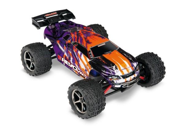 Traxxas E-Revo 4x4 VXL Purple RTR +12V-Lader +Akku 71076-3 (A)