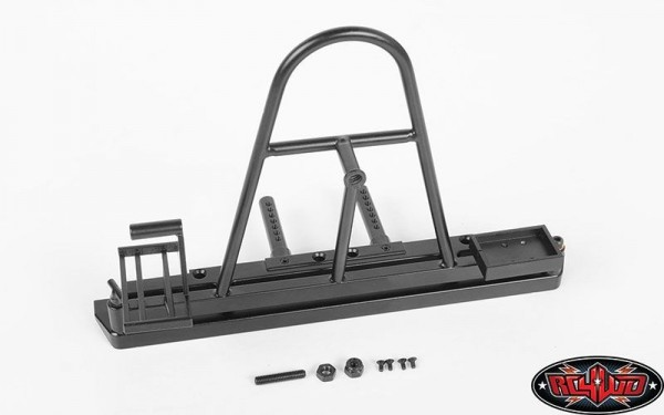 Rear Swing Away Tire Carrier Bumper for Traxxas TRX-4 Z-S1868