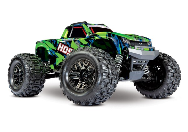 Traxxas HOSS Grün 1:10 RTR Brushless Monstertruck ohne Akku/Lader 90076-4
