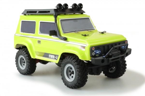Amewi AMXRock Crawler AM24 4WD 1:24 RTR gelb 22419