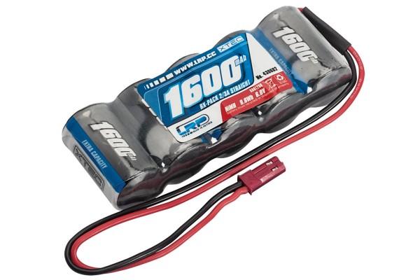 LRP XTEC RX-pack Straight 2/3A NiMH - BEC - 6.0V - 1600mAh 430602