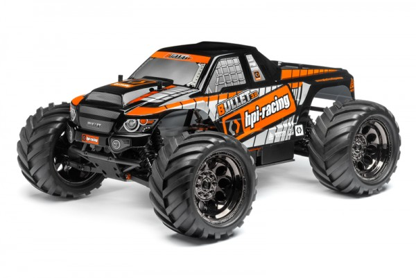 HPI Bullet MT 3.0 RTR (2.4GHz) Nitro Monster Truck 110661