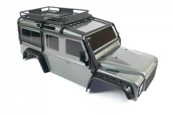 Traxxas TRX-4 Land Rover Defender Karosserie 1:10 Silber Body