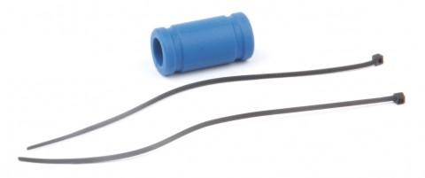 Silikon Auspuff Verbinder (blau) - Rebel BX/TX 133091