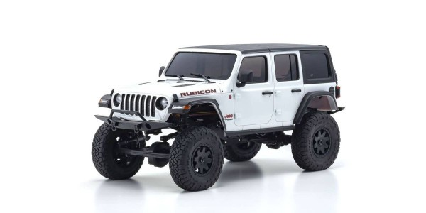 Kyosho Mini-Z 4X4 MX-01 Jeep Wrangler Rubicon Bright White (KT531P) 32521W