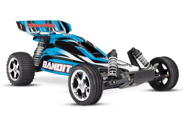 Traxxas Bandit Buggy Blau RTR +12V/Lader 24054-1