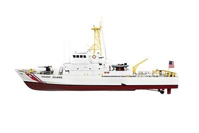 Naviscales Coast Guard Rescue Boat, incl. Esc, Motor, Servo, No Radio NS-1003