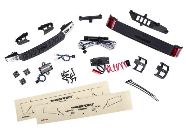 Traxxas 8085 LED Licht-Kit kpl. mit Powersupply (Headlights, Tail light &