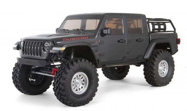 Axial 1/10 SCX10 III Jeep JT Gladiator Rock Crawler w/ Portals RTR Gray AXI03006T1