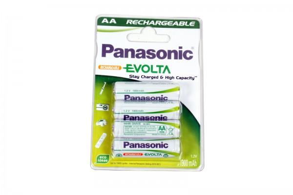 Panasonic Evolta Stay Charged Mignon Akku Ni-MH 1,2V / 1900mAh AA - 4er Blister