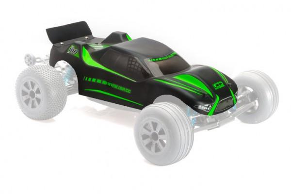 Karosserie lackiert schwarz-matt HD - S10 Twister TX 124154