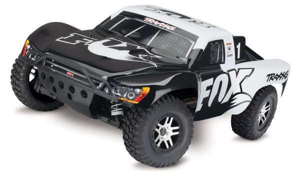 Traxxas Slash 4x4 Brushless +TSM ohne Lader & Akku 68086-4 FOX