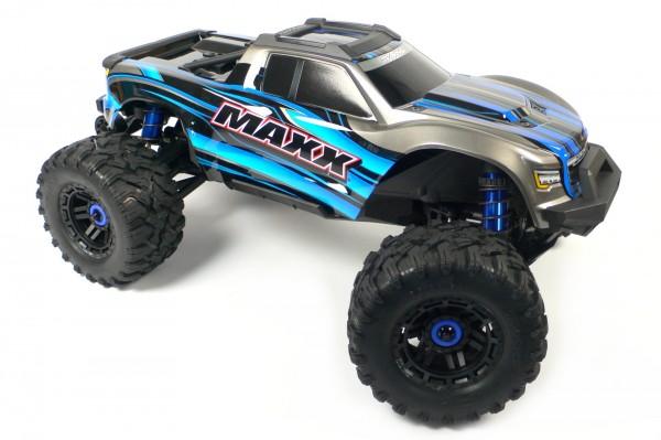 Traxxas MAXX Chassis Roller 1/10 komplett ohne Elektronik