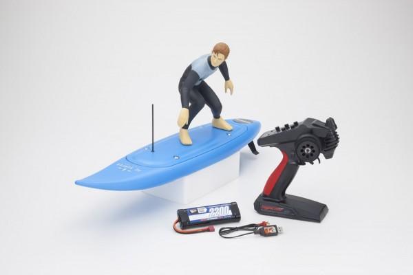 Kyosho RC Surfer 4 RC Electric Readyset (KT231P+) T1 Blau 40110T1B