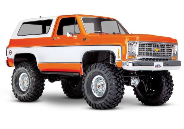 Traxxas TRX-4 Chevy Blazer 4x4 Orange RTR ohne Akku/Lader 1/10 4WD 82076-4