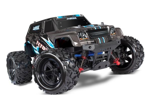 LaTrax TETON 4x4 Schwarz RTR +Akku/12V-Lader Monster Truck 76054-1