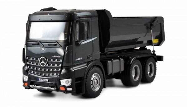 Amewi Mercedes Benz Arocs LKW Kipper PRO Metall 2,4GHz RTR grau 22504