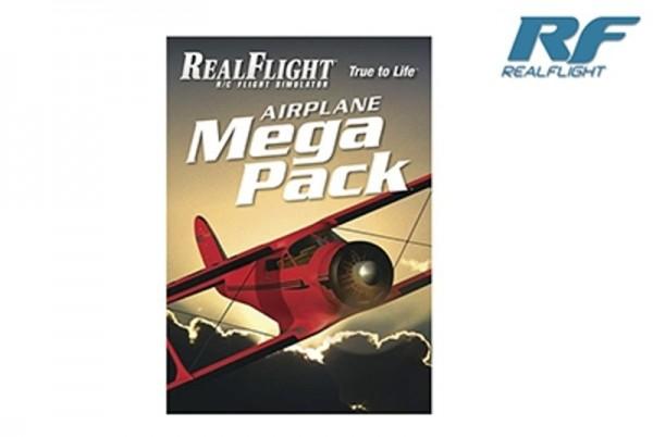RealFlight - Airplane Mega Pack - RF 6 und höher