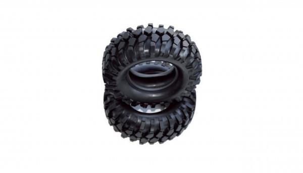 Amewi 96mm 1.9 Reifen Set mit Einlage 2x 010-20210