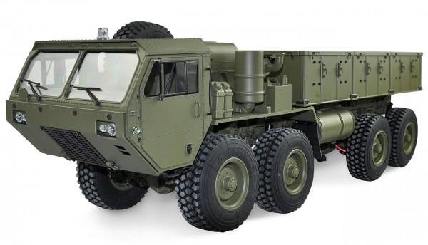 Amewi U.S. Militär Truck 8x8 1:12 mit Ladefläche military grün 22389