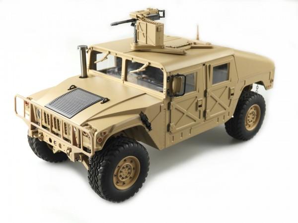 Amewi US Militärtruck 4x4 1:10 Desert sand Teilmetall 22418