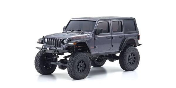 Kyosho Mini-Z 4X4 MX-01 Jeep Wrangler Rubicon Granite Metallic (KT531P) 32521GM