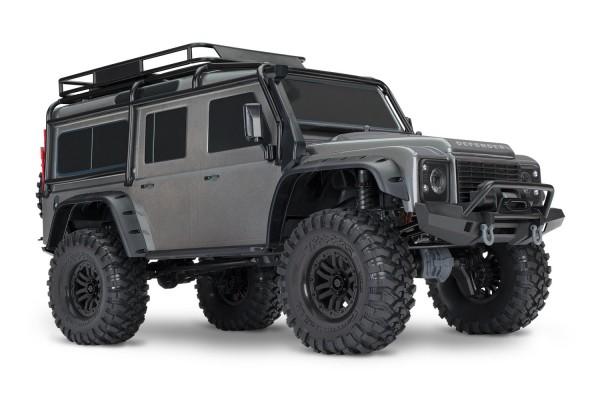 Traxxas TRX-4 Land Rover Crawler Silber ohne Akku, ohne Lader 82056-4