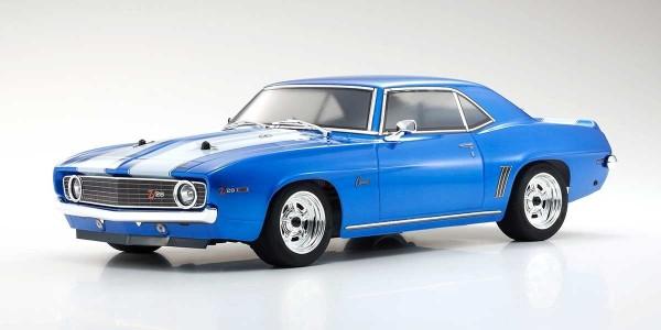 Kyosho FAZER MK2 Chevy Camaro Z28 1969 1:10 ReadySet 34418T1B
