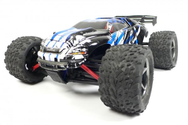 Traxxas E-Revo 4x4 VXL Blau X RTR +12V-Lader +Akku 71076-3 (RCG)
