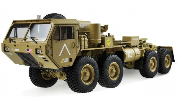 Amewi U.S. Militär Truck 8x8 1:12 Zugmaschine sandfarben 22390
