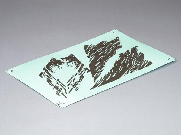 Killerbody Dekorbogen silber/grau f. Horri-Bull 1/10